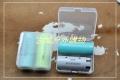 带挂钩的4*18650&2*26650&2*26700电池收纳盒存储盒