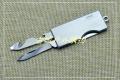 三刃木个性EDC双开小刀瓶启线带割刀4115SUX-SA