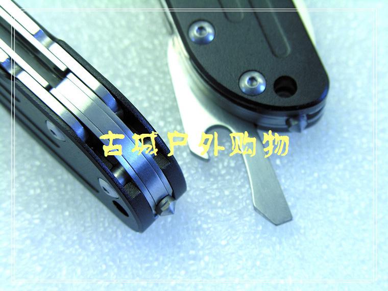 三刃木经典多功能半齿救生工具刀lb-t01a